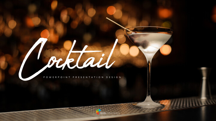 Cocktail Best PPT Templates_01