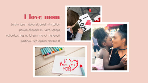 Mothers Day & Fathers Day Simple Presentation Google Slides Template_03