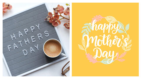 Mothers Day & Fathers Day Simple Presentation Google Slides Template_04