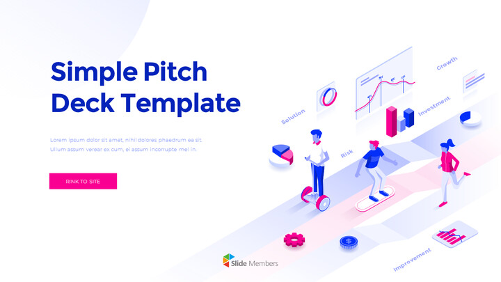 Simple Pitch Deck Template Simple PowerPoint Template Design_01