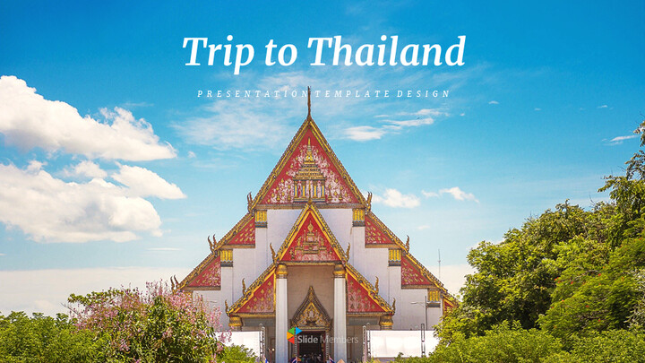 Trip to Thailand Google Slides Templates for Your Next Presentation_01