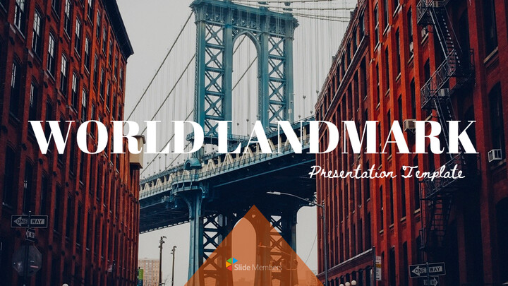 World Landmark Google Slides Template Diagrams Design_01