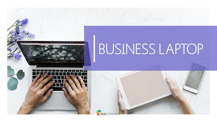 비즈니스 노트북 파워포인트 템플릿_01