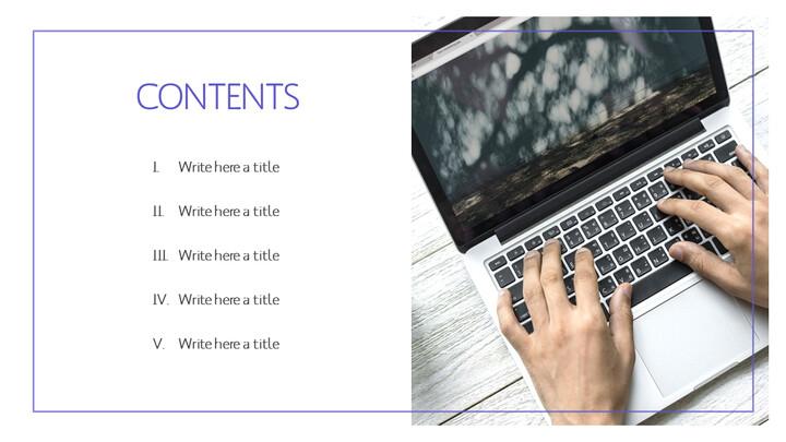 비즈니스 노트북 파워포인트 템플릿_02