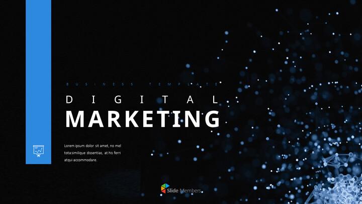 디지털 마케팅 PowerPoint 프레젠테이션 템플릿_01