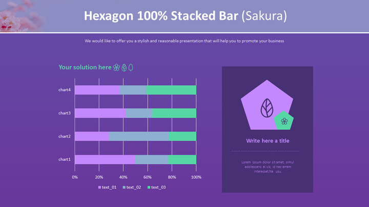 Hexagon 100% Stacked Bar (Sakura)_02