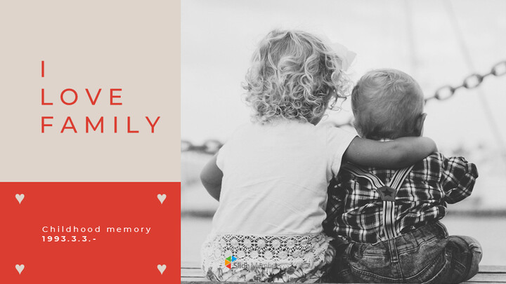 I Love Family Google Presentation Templates_01