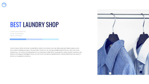 Laundry Shop Simple Google Slides Templates_02