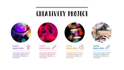 창의성 프로젝트 PowerPoint 템플릿 디자인_06