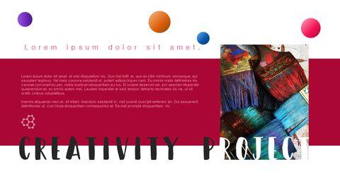 창의성 프로젝트 PowerPoint 템플릿 디자인_12
