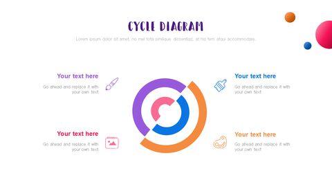 창의성 프로젝트 PowerPoint 템플릿 디자인_13