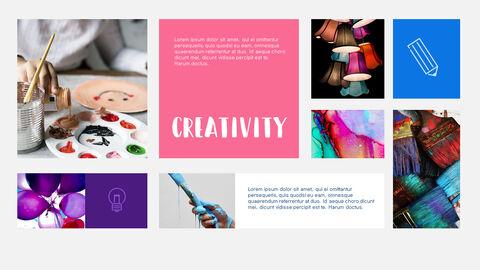 창의성 프로젝트 PowerPoint 템플릿 디자인_17