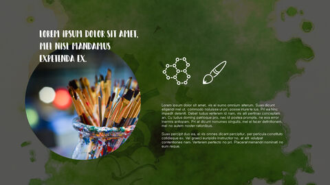 창의성 프로젝트 PowerPoint 템플릿 디자인_19