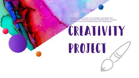 창의성 프로젝트 PowerPoint 템플릿 디자인_21