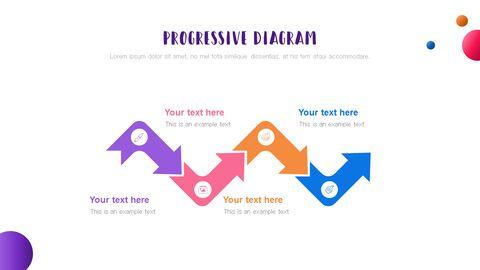 창의성 프로젝트 PowerPoint 템플릿 디자인_29