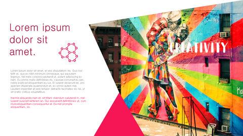 창의성 프로젝트 PowerPoint 템플릿 디자인_35