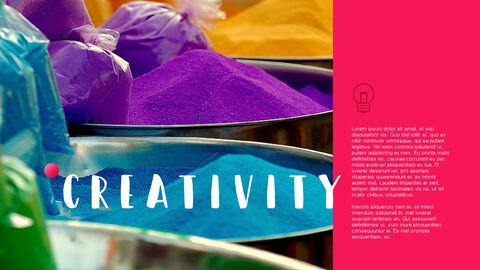 창의성 프로젝트 PowerPoint 템플릿 디자인_37