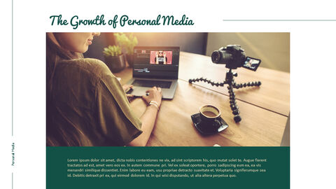 Personal Media Theme PPT Templates_03