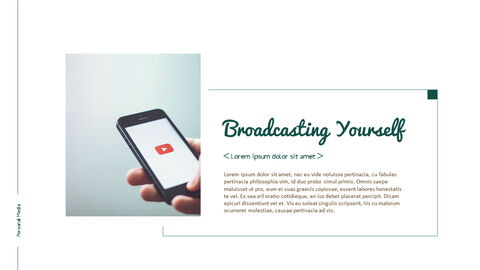 Personal Media Theme PPT Templates_04