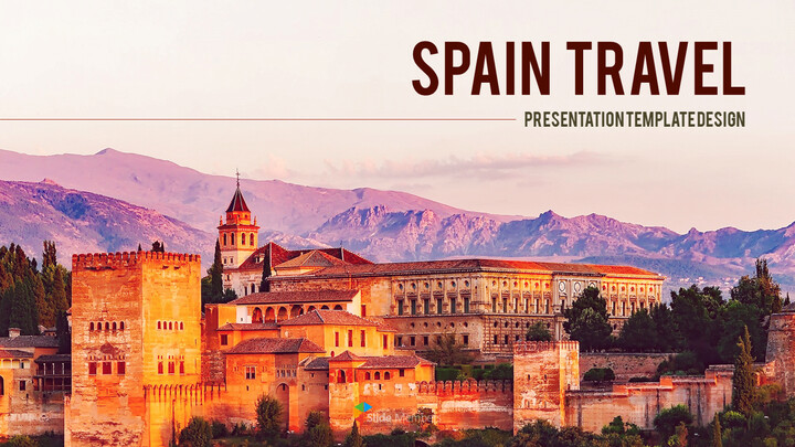 Spain Travel premium PowerPoint Templates_01