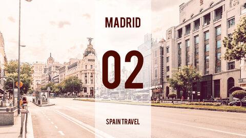 스페인 여행 프리미엄 파워포인트 템플릿_08