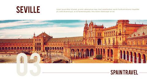 스페인 여행 프리미엄 파워포인트 템플릿_13