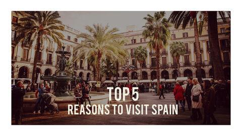 스페인 여행 프리미엄 파워포인트 템플릿_26