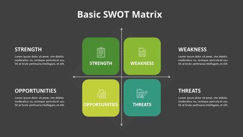 SWOT 그리드 분석 다이어그램_08