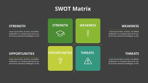 SWOT 그리드 분석 다이어그램_09