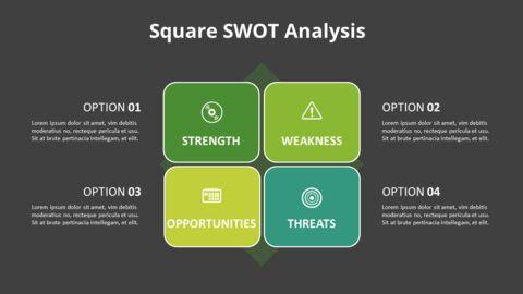 SWOT 그리드 분석 다이어그램_12