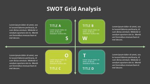 SWOT 그리드 분석 다이어그램_14