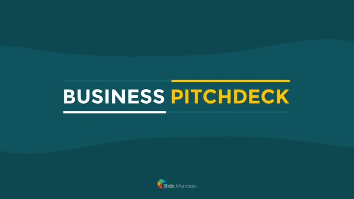 Business Pitch Deck Slides PPT Templates Design_01
