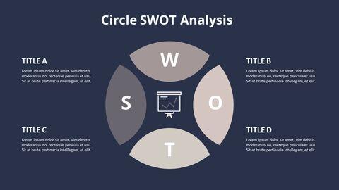 Circle SWOT 분석 다이어그램_07