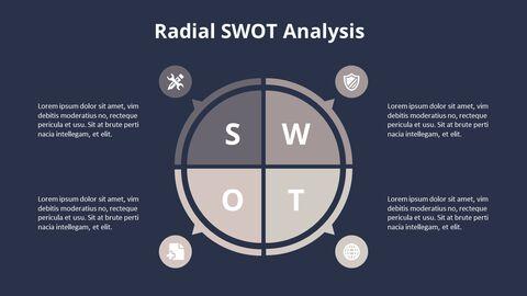 Circle SWOT 분석 다이어그램_08