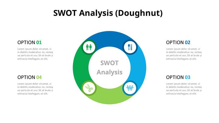 Doughnut SWOT Analysis Diagram_01
