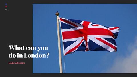 재미있는 여행, 런던 비즈니스 PPT_09