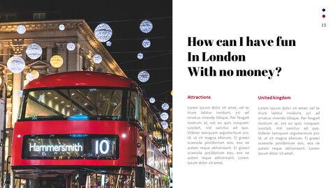 재미있는 여행, 런던 비즈니스 PPT_15