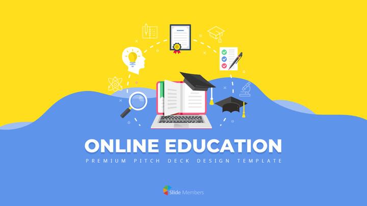 온라인 교육 서비스 베스트 파워포인트 프레젠테이션_01