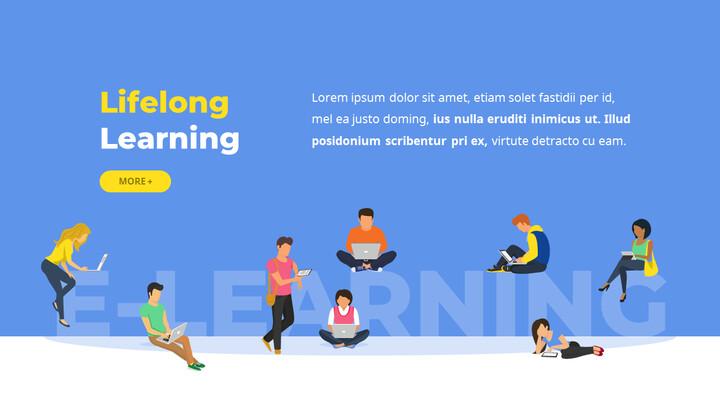 온라인 교육 서비스 베스트 파워포인트 프레젠테이션_02