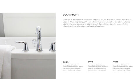 Home Interior Simple PowerPoint Template Design_03