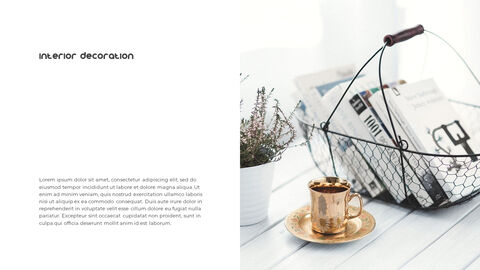 Home Interior Simple PowerPoint Template Design_04