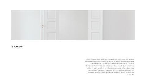 홈 인테리어 심플한 파워포인트 템플릿 디자인_10