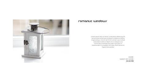 홈 인테리어 심플한 파워포인트 템플릿 디자인_14