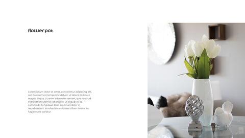 홈 인테리어 심플한 파워포인트 템플릿 디자인_15