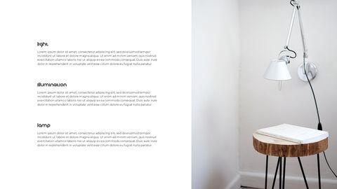 홈 인테리어 심플한 파워포인트 템플릿 디자인_18