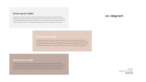홈 인테리어 심플한 파워포인트 템플릿 디자인_21