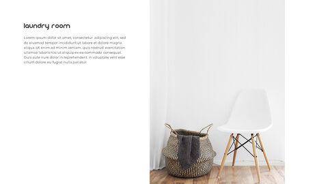 홈 인테리어 심플한 파워포인트 템플릿 디자인_23