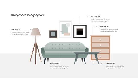 홈 인테리어 심플한 파워포인트 템플릿 디자인_24