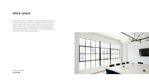 홈 인테리어 심플한 파워포인트 템플릿 디자인_28