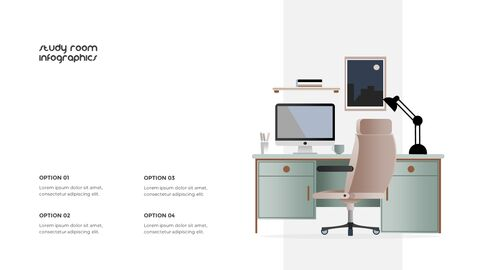 홈 인테리어 심플한 파워포인트 템플릿 디자인_38